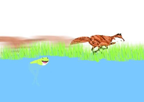 Hop On Reading Illustration