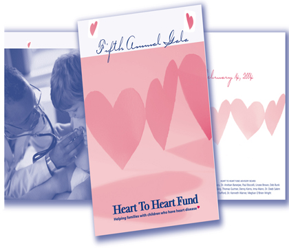 Logo and brochure for Non-profit