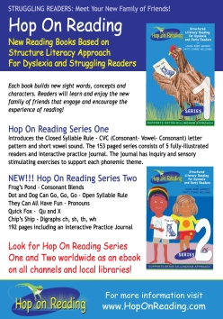 Hop On Reading Collateral