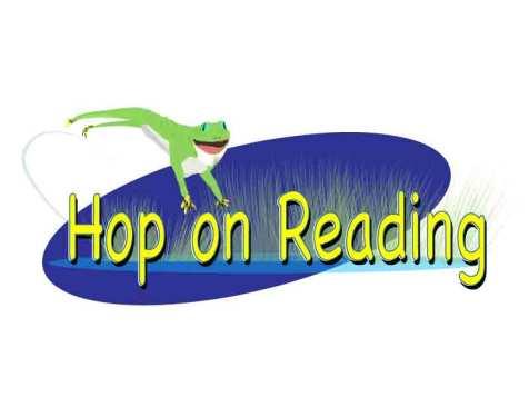 Hop On Reading logo