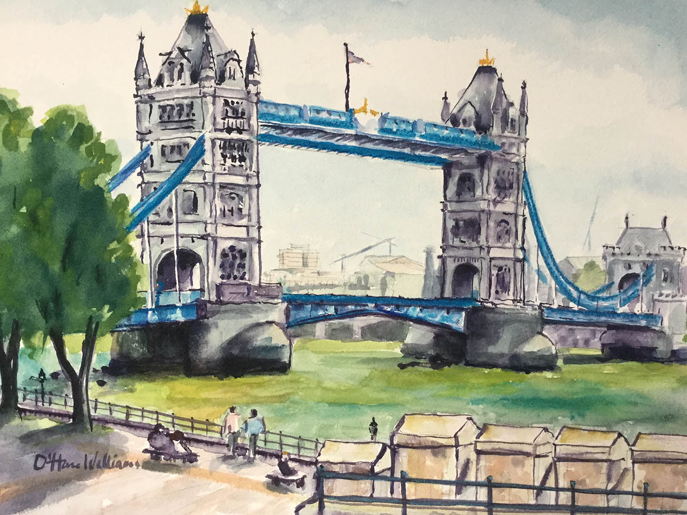 OHareWilliams_London_Bridge, 2018